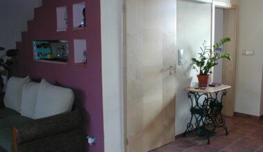 Dveře Sapeli – vlastní montáž