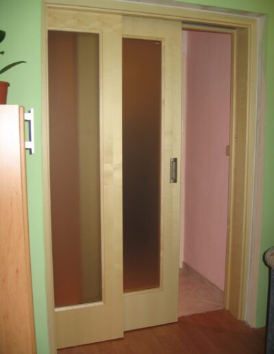 interiérové dveře Sapeli - posuvné dveře