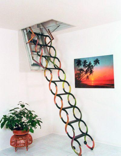 schodiště JAP - půdní schody