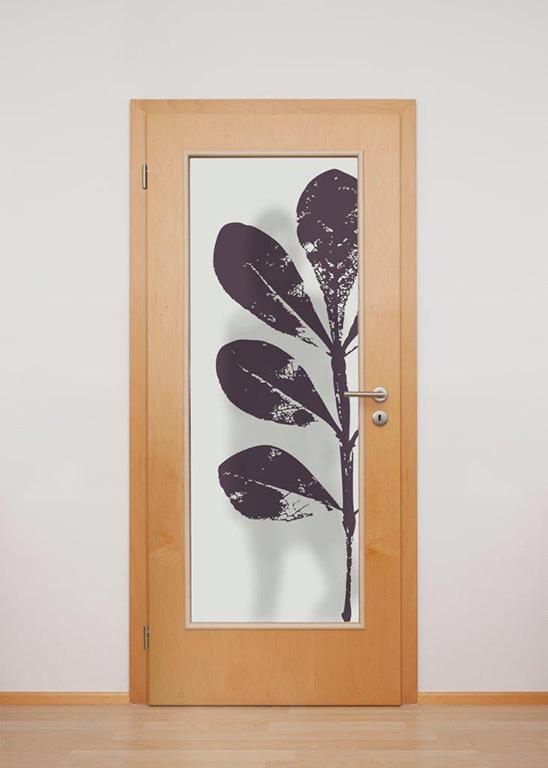 interiérové dveře + Grafosklo neprůhledné