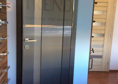 interiérové dveře Trend lesk Brno