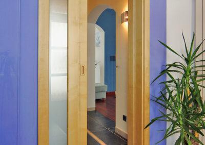 Interiérové dveře Sapeli - posuvné dveře do pouzdra