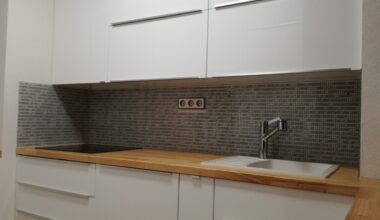 Grafosklo – obklad za kuchyňskou linku