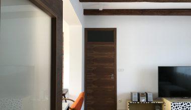 Interiérové dveře Sapeli – dýha ořech