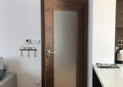 Interiérové dveře Sapeli Tenga - dýha ořech