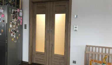 Interiérové dveře Trend – realizace – dub