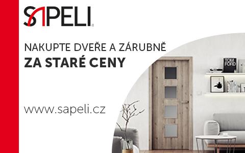 výhodná akce dveře Sapeli Brno